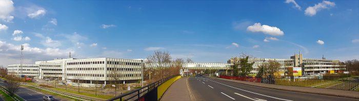 Panoramic view fashion house 1-2 - Düsseldorf