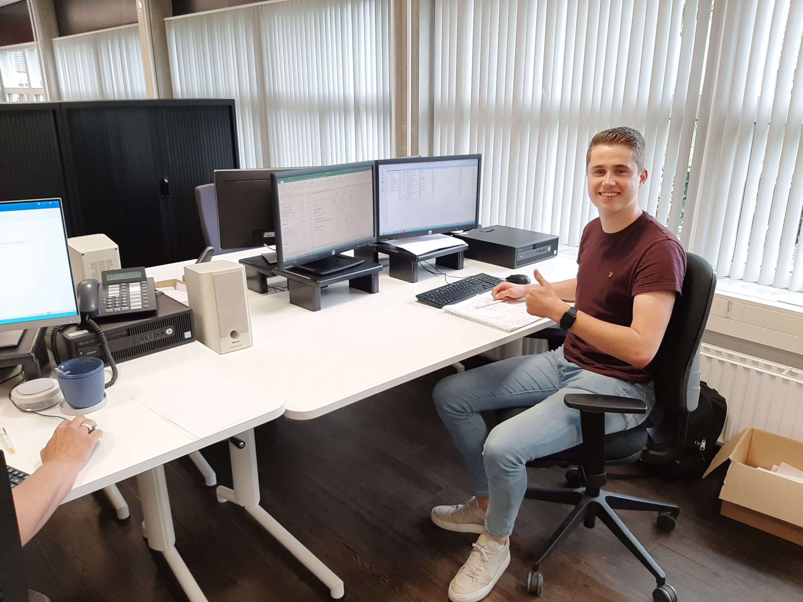 Luuk Gerritzen - Stagiaire finance & administration - Laarakkers Nederland